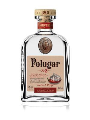 Vodka Polugar N.2 - Garlic & Pepper (0,7 l, 38,5%)