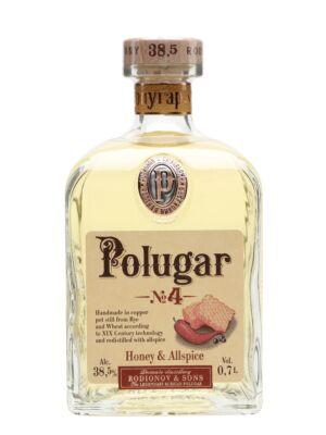 Vodka Polugar N.4 - Honey & Allspice (0,7 l, 38,5%)
