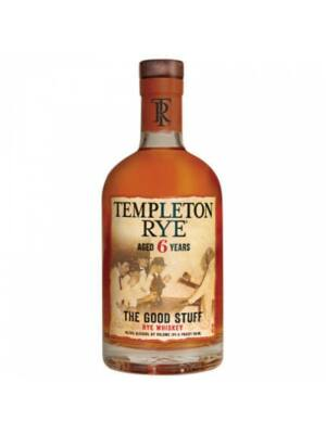Templeton Rye 6 éves (0,7 l, 45,75%)