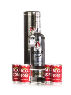 Vodka Kremlin Award Classic Fémdobozban + Big Tom