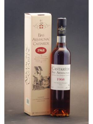 Armagnac Castarede 1968 (0,5 l, 40%)