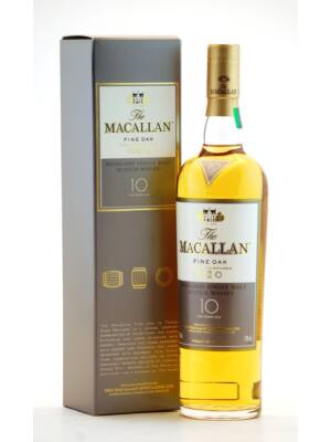 Macallan 10 éves Fine Oak (0,7 l, 40%)