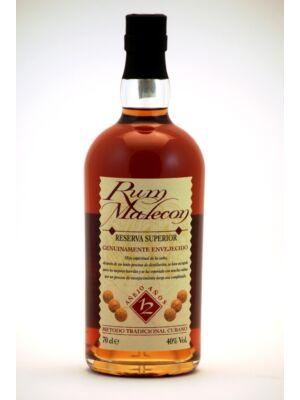 Rum Malecon 12 éves (0,7 l, 40%)
