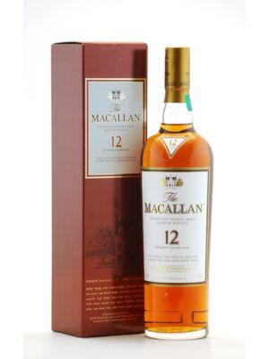 Macallan 12 éves Sherry Oak (0,7 l, 40%)