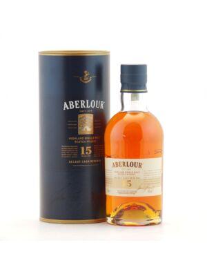 Aberlour 15 éves (0,7 l, 43%)