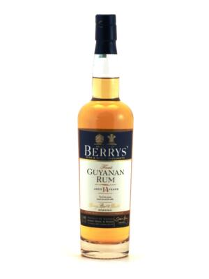 Rum Guyanan 15 éves BB&R (0,7 l, 46%)