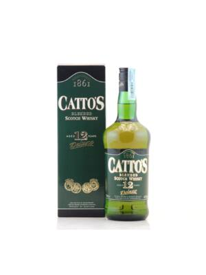 Catto's 12 éves Pdd (0,7 l, 40%)
