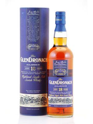 Glendronach 18 éves - Allardice (0,7 l, 46%)
