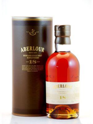 Aberlour 18 éves (0,7 l, 43%)