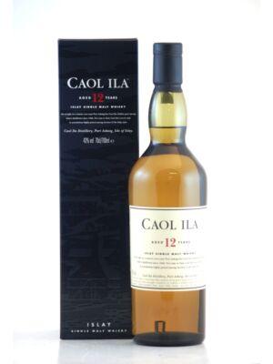 Caol Ila 12 éves (0,7 l, 43%)