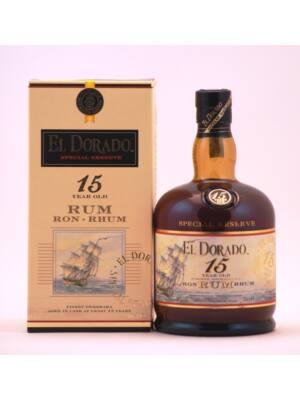 Rum El Dorado 15 éves (0,7 l, 43%)