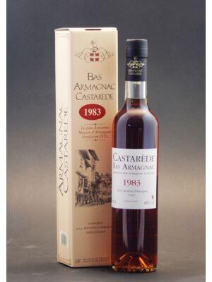 Armagnac Castaréde 1983 (0,5 l, 40%)