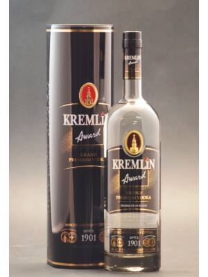 Vodka Kremlin Award Grand Premium fémdobozban (1,0 l, 40%)