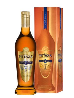 Metaxa 7 Star díszdobozban (0,7 l, 40%)