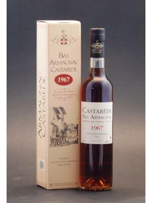 Armagnac Castarede 1967 (0,5 l, 40%)
