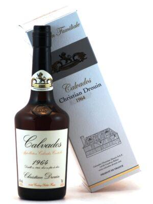 Calvados Christian Drouin 1964 (0,7 l, 40%)