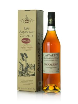 Armagnac Castarede 10 éves Napoleon (0,7 l, 40%)