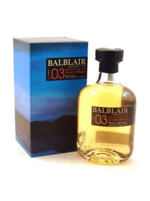 Balblair 2003 Vintage (0,7 l, 46%)