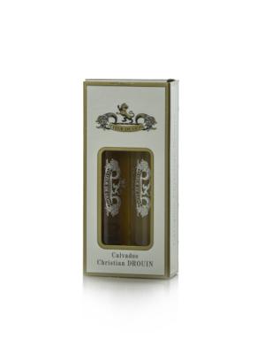 Calvados Christian Drouin Mini Ajándékcsomag (2X0,04 l, 40%)