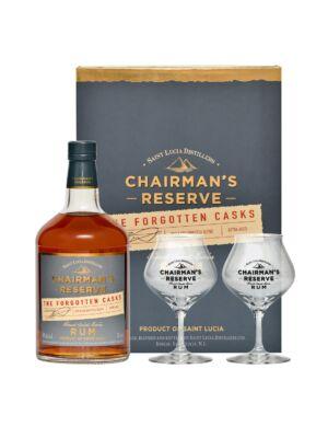 Rum Chairman's Reserve The Forgotten Casks Ajándékcsomag (0,7L 40%)