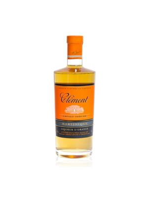 Rum Clement Shrubb Creole - Narancshéjon áztatott rumlikőr (0,7 l, 40%)