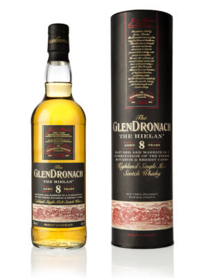 Glendronach 8 éves Hielan (0,7 l, 46%)