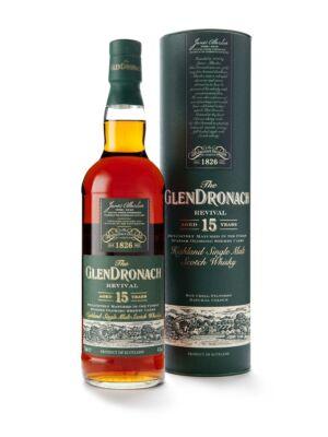 Glendronach 15 éves - Revival (0,7 l, 46%)
