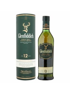 Glenfiddich 12 éves (1,0 l, 40%)