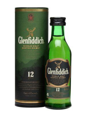 Glenfiddich 12 éves Mini (0,05 l, 40%)