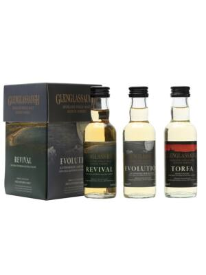 Glenglassaugh Tripack mini (0,15 l, 48,67%)