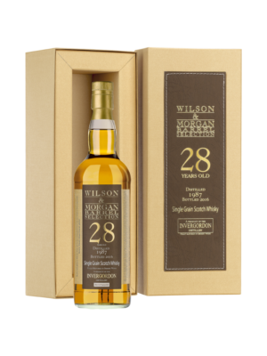 Invergordon 28 éves Sherry Wood Wilson&Morgan (0,7 l, 53,8%)