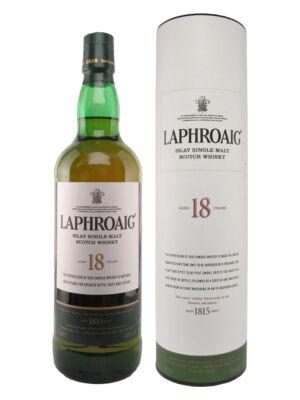 Laphroaig 18 éves (0,7 l, 48%)