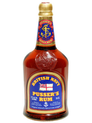 Rum Pusser's Gunpowder Proof British Navy (0,7 l, 54,5%)