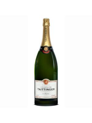 Taittinger Brut Jeroboam Champagne fadobozban (3 l, 12%)