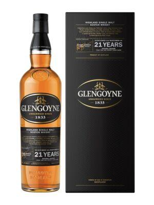 Glengoyne 21 éves (0,7 l, 43%)