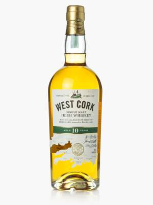 West Cork Single Malt 10 éves (0,7 l, 40%)
