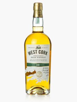 West Cork Single Malt 10 éves (0,7 l, 40%)
