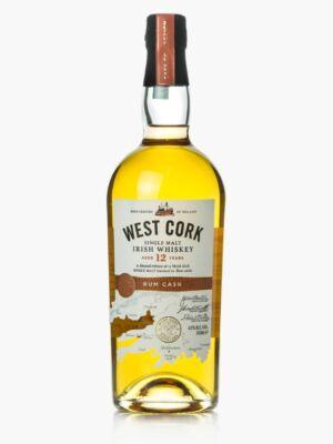 West Cork 12 éves Rum Cask Finish (0,7 l, 43%)