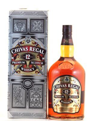 Chivas Regal 12 éves (4,5 l, 40%)