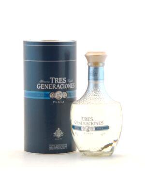 Tequila Tres Generaciones Plata (0,7 l, 38%)