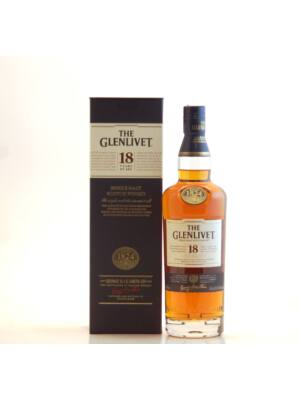 The Glenlivet 18 éves (0,7 l, 43%)