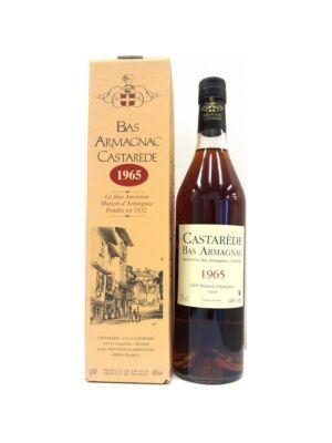 Armagnac Castarede 1965 (0,7 l, 40%)