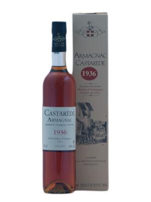Armagnac Castaréde 1936 (0,5 l, 40%)