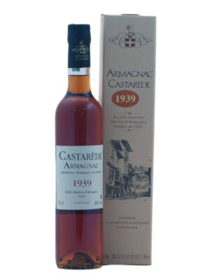 Armagnac Castarede 1939 (0,5 l, 40%)
