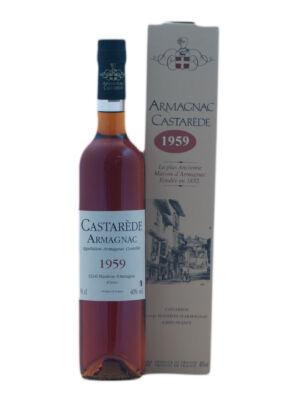 Armagnac Castaréde 1959 (0,5 l, 40%)