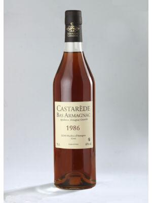 Armagnac Castarede 1986 (0,5 l, 40%)