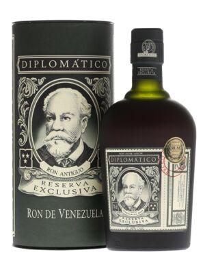 Rum Diplomático Exclusiva Díszdobozban (0,7 l, 40%)