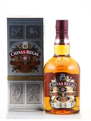 Chivas Regal 12 éves Pdd (0,7 l, 40%)