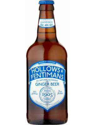 Fentimans and Hollows Ginger Beer (0,5 l, 4%)