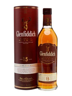 Glenfiddich 15 éves Solera Reserve (0,7 l, 40%)
